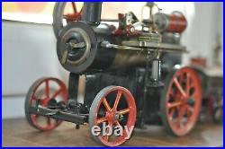 LOKOMOBILE uralt Spiritus gefeuert Antique steam LOKO very nice NO TEST