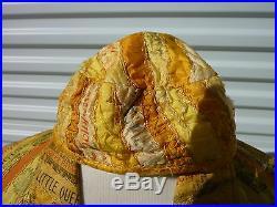 Late 1800s Cigar-Silk Smoking Jacket With Cap Very Nice