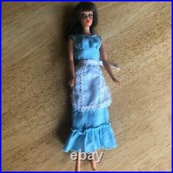 MOD Barbie TNT 1967 doll and 60's original clothes & some handmade, very nice