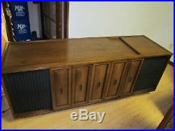 Mid Century Seeburg HSC1 Home Console Stereo Jukebox, VERY NICE