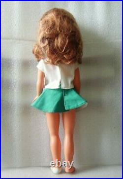 NICE VERY RARE VINTAGE DOLL IN ORIGINAL COSTUME, GERMANY-GDR/DDR, 1970s