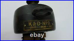 Old K&D No. 9 open frame Electric Motor Antique vintage very nice