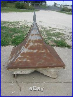 Original Antique Cupola Very Nice Looking Victorian Metal & Wood Cupola