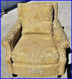 Pair of LEXINGTON HOME FURNISHINGS Upholstered Club Accent Armchairs Very Nice