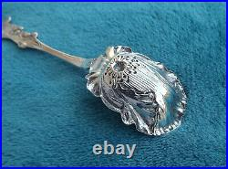 Poppy by Paye and Baker 5 1/2 long Sterling sugar spoon no mono Very Nice