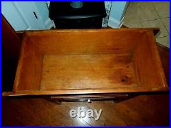 Primitive Wooden Dough Table-very Nice