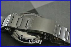 RARE Seiko 7005 8140 Iranian Royal Army Diver Steel Watch Very Nice