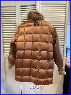 RARE Vintage 40s-50s Eddie Bauer Goose Down Jacket Coat Parka VERY NICE