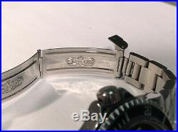 ROLEX 1680 RED SUBMARINER FAP 1974 Peruvian Air Force Military Issue! Very Nice