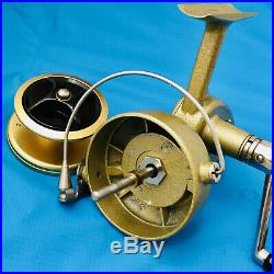 Rare BMV Andrika Model A Spinning Fishing Reel, Made in Denmark Very Nice