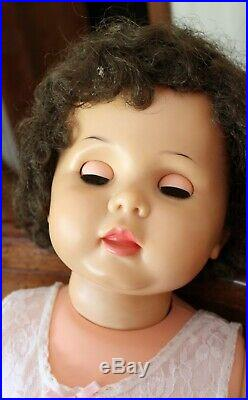 Rare VINTAGE IDEAL PENNY PLAYPAL DOLL 32 Brunette. Very Nice! Please read