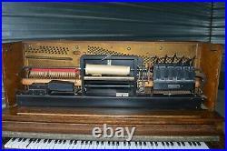 Smith & Barnes Antique Player Piano 1905 Era Very Nice condition, Plays''RARE