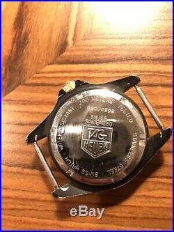 TAG HEUER 1000 SERIES 980.029B Vintage Collectible, Very Nice