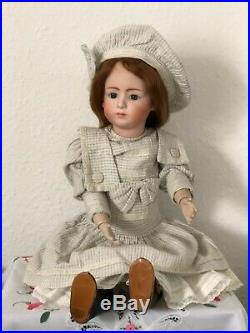 VERY NICE ANTIQUE 25 inch HEUBACH POUTY (ARTIST)