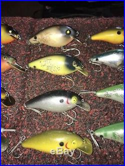VERY NICE COLLECTION VINTAGE BIG-O & Norman FISHING LURES! Crankbaits