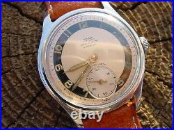 Vasa Sport With a Very Nice Salmon Sector Dial Steel Case Full Service