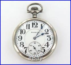 Very Nice / 1915 Hampden Railway Grade 16s 19j 5 Adj Pocket Watch