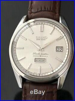 Very Nice And Rare Vintage 1965 Seiko Weekdater 35j. Automatic 6218-8971