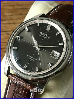 Very Nice And Rare Vintage 1968 Seiko Sportsmatic 7625-8043 Automatic