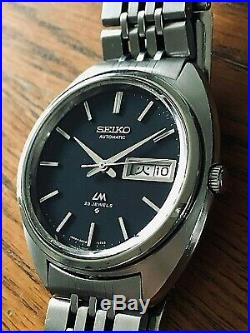 Very Nice And Rare Vintage 1971 Seiko Lord Matic LM 5606-7150 Automatic