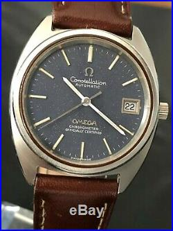 Very Nice And Rare Vintage 1973 Omega Constellation Automatic Cal. 1011