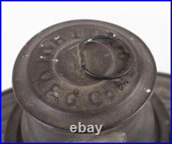 Very Nice Antique CT Ham No 20 Empire Inspector Lantern Kerosene Tubular