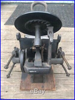 Very Nice Antique Kelsey & Co. Excelsior Model 3x5 Printing Press, Meriden Conn