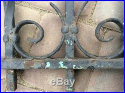Very Nice Antique Wrought Iron Gate