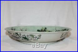 Very Nice Chinese Famille Verte Charger, Qing Dynasty