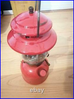 Very Nice Coleman 200A Lantern with small Clamshell Case, 11/74 Vintage