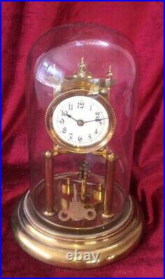 Very Nice Disk 400 Day, Torsion, Anniversary Clock