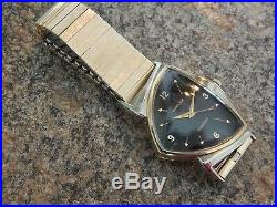 Very Nice Hamilton Pacer Electric Watch with Original Band and Box, Serviced