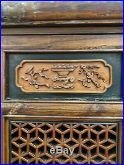 Very Nice Large Antique Chinese Kitchen Cabinet
