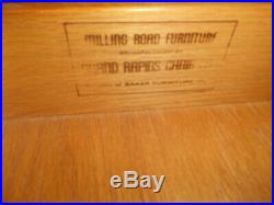 Very Nice Milling Road for Baker Furniture Leather Top Writing Desk