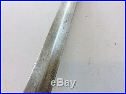 Very Nice Old Antique Chinese Long Jian Sword With Laminated Blade
