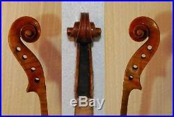 Very Nice Old Antique German Stradivarius labeled Violin 4/4 Size