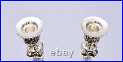 Very Nice Pair Of Sterling Silver Candlesticks