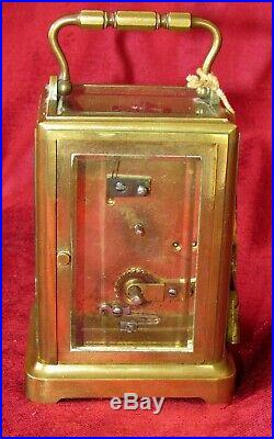 Very Nice Quality French One Piece Carriage Clock