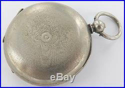 Very Nice Rare / Antique Sheppo Key Wind Pocket Watch Working, Great Dial