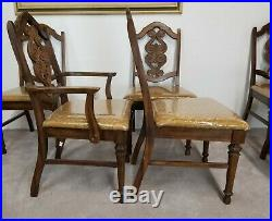 Very Nice Set of 6 Vintage TROGDON FINE FURNITURE COMPANY Dining Chairs