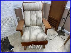 Very Nice Sign Cushman Rocker, In Great Condition