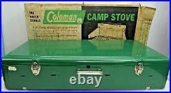 Very Nice Vintage 1961-1964 Coleman Model 426C 3-Burner Camp Stove With Box