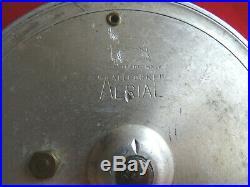 Very Nice Vintage 4 Allcocks Aerial Centrepin Reel Model 7950-t10 Bright Finish