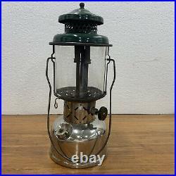 Very Nice Vintage Coleman Lantern Model 220E Original Sunrise Globe 1953 Cool