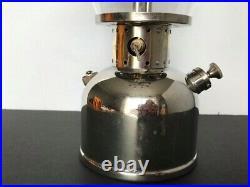 Very Nice Vintage Coleman Model 242B Lantern Nickel Fount 1951 Canada
