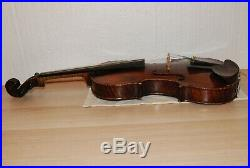 Very Very Nice Old Antique 1843 Ira J. White labeled Violin 4/4 Size