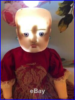 Very nice Antique Simon&Halbig K R 13 inch DOLL with Miniature 3 inch Doll
