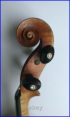 Very nice French violin labeled Emile L'Humbert! Video
