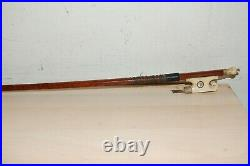 Very nice Old Antique Vuillaume Stamped 4/4 VIOLIN BOW