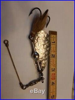 Very nice, Vintage, Scarce McHarg #2 Musky size Muskallonge Spinner withBall